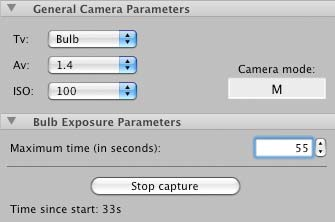 DSLR Assistant - Software to remotely control a Canon DSLR camera